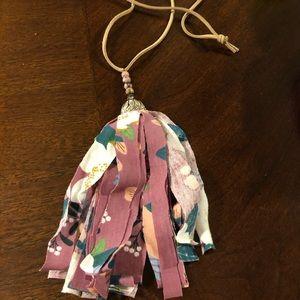Handmade Long Tassel Necklace